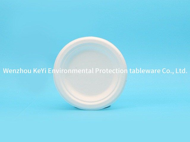 FDA test microwaveable 9in round plate(wide edge)