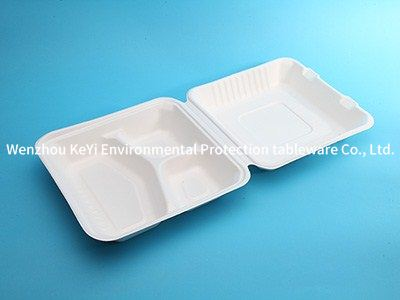 BPI certificate one time use food clamshell A81  Microwavable and Safe for Hot and Cold Foods