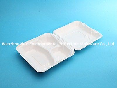 FDA test sugarcane bagasse food container A83