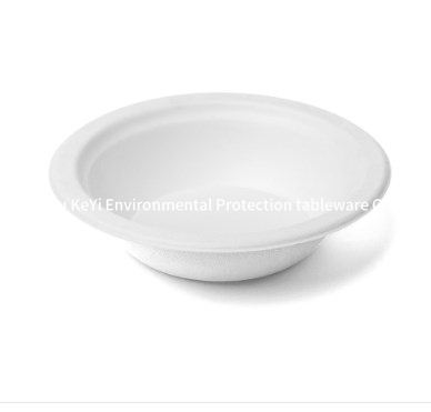 composable sugarcane bagasse bowl
